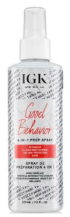 IGK Good Behavior curly hair product prep spray for frizzy hair alternative to keratin smoothing treatment